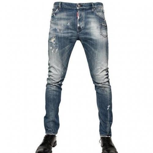 Dsquared - 18Cm Denim Kenny Twist Jeans