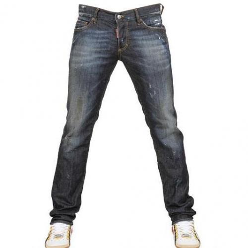 Dsquared - 18Cm Slim Fit Stretch Denim Jeans