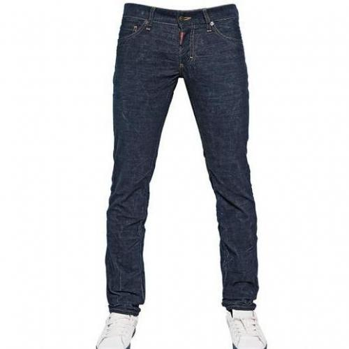 Dsquared - 19Cm Corduroy Stretch Denim Effect Jeans