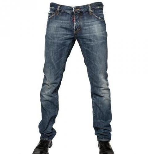 Dsquared - 19Cm Denim Slim Fit Jeans