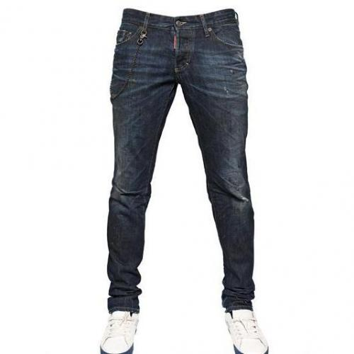 Dsquared - 19Cm Grease Monkey Wash Slim Fit Jeans