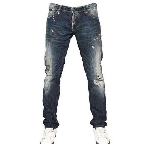 Dsquared - 19Cm Revolution Wash Slim Fit Denim