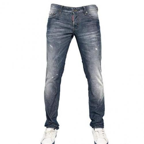 Dsquared - 19Cm Stretch Corduroy Denim Effect Jeans