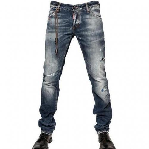 Dsquared - 19Cm Washed Denim Slim Fit Jeans