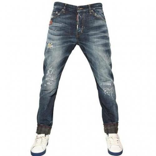 Dsquared - 24,5Cm Ocra Kenny Twist Roll Up Jeans