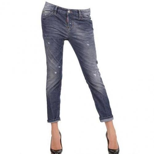Dsquared - Cool Girl Stretch Washed Baumwoll Jeans