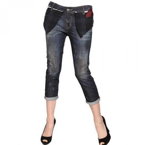 Dsquared - Cool Girl Stretch Washed Denim Jeans
