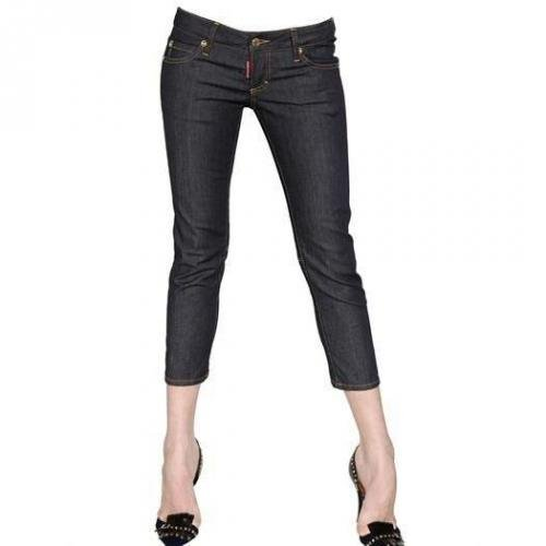 Dsquared - Cop Unwashed Stretch Baumwoll Denim Jeans