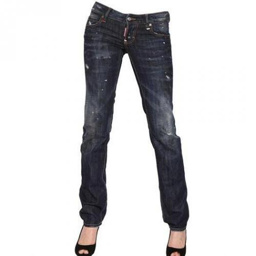 Dsquared - Dean Dan Slim Destroyed Denim Jeans