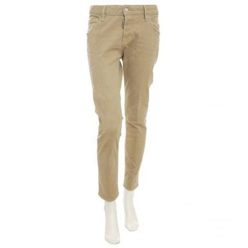 Dsquared Jeans Cool Girl Khaki