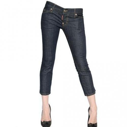 Dsquared - Mini Miller Stretch Gekürzte Denim Jeans