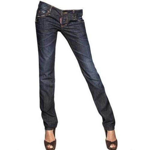 Dsquared - Slim Washed Denim Jeans