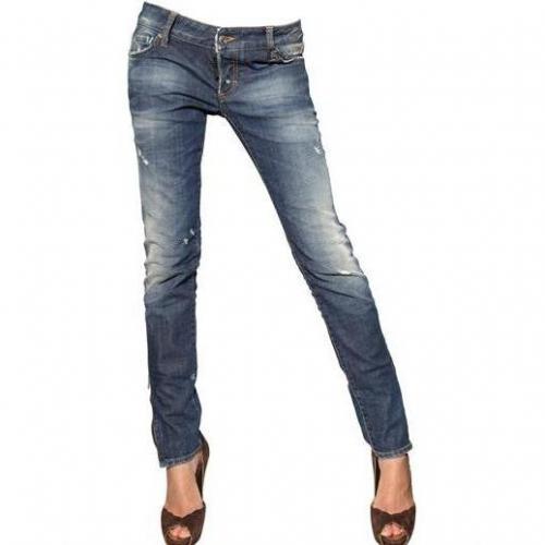 Dsquared - Super Enge Washed Denim Jeans