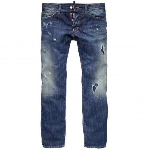 Dsquared2 Herren Jeans Dean Jean Vintage Used Style
