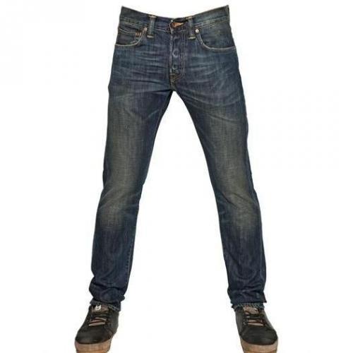 Edwin - 17,5Cm Slim Fit Vintage Wash Ed 55 Jeans