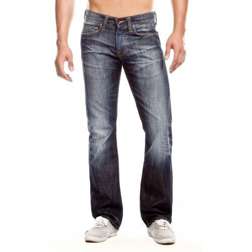 Edwin ED 47 Regular Jeans Straight Fit Dark Used
