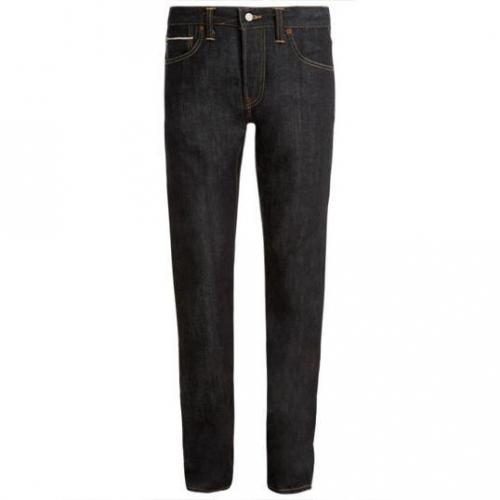 Edwin - Hüftjeans ED-39 Regular Red Listed Selvage Denim Unwashed Dunkel