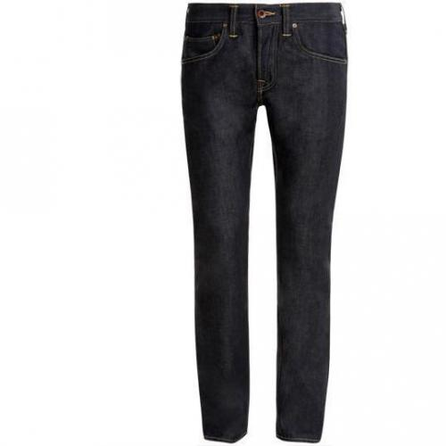 Edwin - Hüftjeans ED - 55 Relaxed Dark Blue Denim 12oz Blue Vintage Wash Farbe
