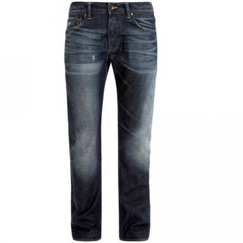Edwin - Hüftjeans ED - 71 Slim Quartz Blue Denim 11,25oz Blue Heavy o-wash Far