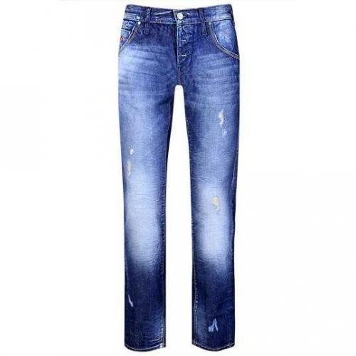 Energie - Relaxed Fit Burney L00U02 F09950 Blaue Waschung