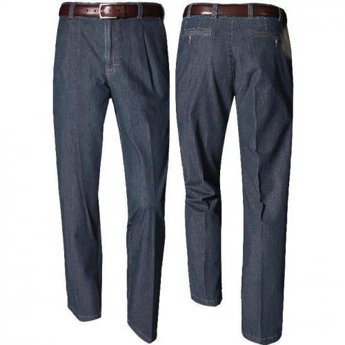 Eurex by Brax Bundfalten Jeans m.blau 6047/318/21