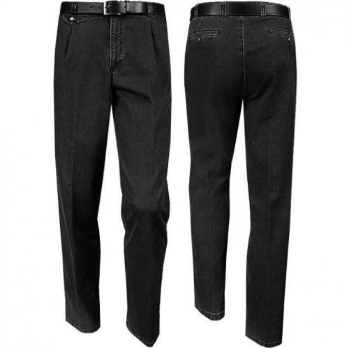 Eurex by Brax Tiefbund Jeans schwarz 690/321/09