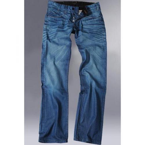 Firetrap Jeans Logger Luminus Blu 1 luna DAAR70