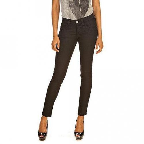 Fornarina - Skinny Modell Blanca up stretch denim pant 00 27 Farbe Schwarz
