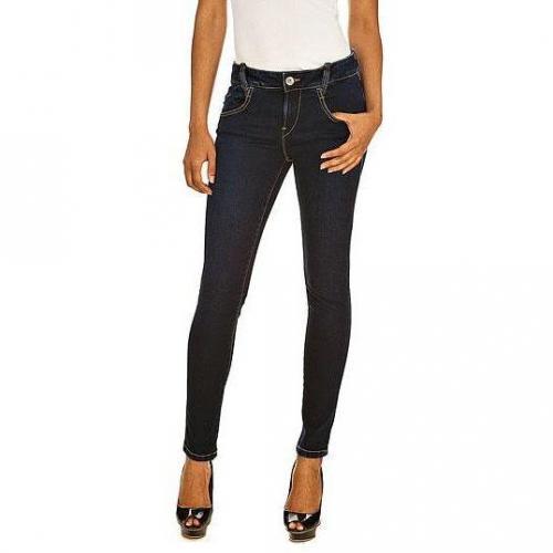 Fornarina - Skinny Modell Nina stretch denim pant W5 Farbe Dunkelblau