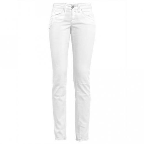 Fornarina - Slim Modell Blanca Up White Farbe Weiß