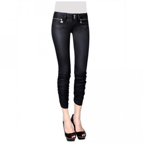Fornarina - Slim Modell Megan Plus-Black Farbe Schwarz