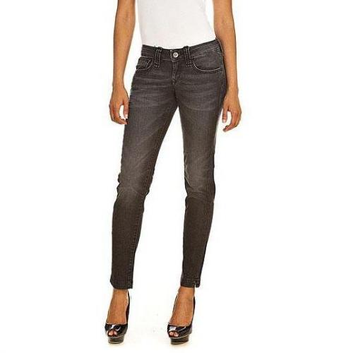 Fornarina - Slim Modell Pin-up Skinny stretch denim pant SYS Farbe Grau