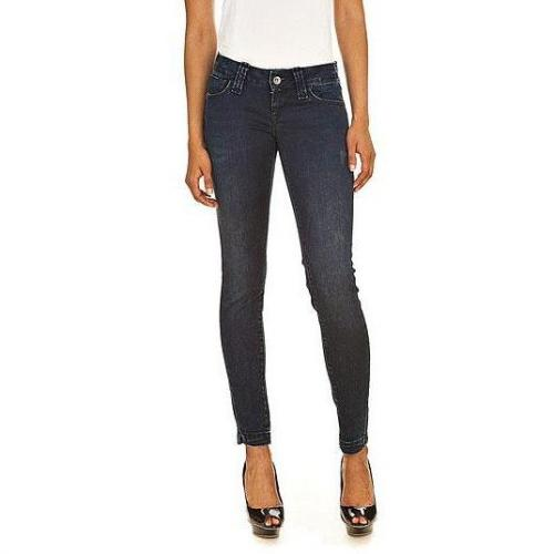 Fornarina - Slim Modell Pin-up Skinny stretch denim pant Y Farbe Blau