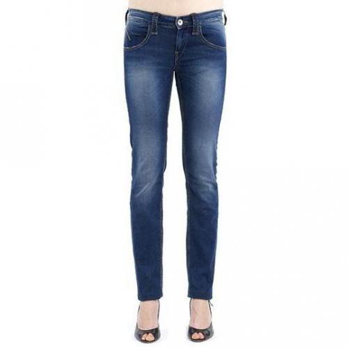 Fornarina - Slim Modell Tara Soft Blue Farbe Blau