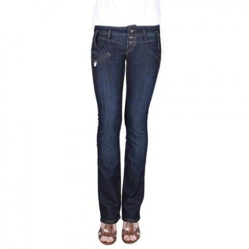 Freeman T. Porter - Hüftjeans Modell Colorado Stretch Denim Eclipse Farbe Dunkelblau