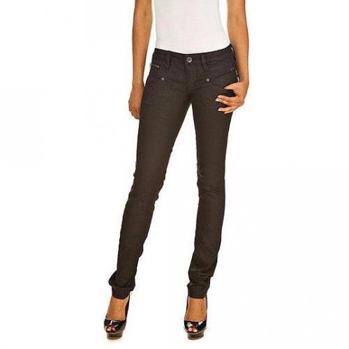 freeman t porter skinny modell alexa stretch denim black 27 farbe schwarz mydesignerjeans. Black Bedroom Furniture Sets. Home Design Ideas