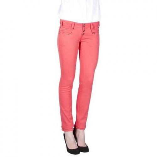Freeman T. Porter - Slim Modell Dounia Color Stretch Chayenne Farbe Rot