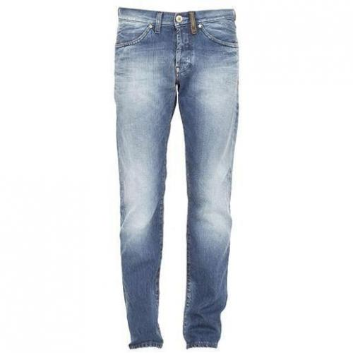 Freesoul - Hüftjeans Only Anchor Leather Gloss Blaue Waschung
