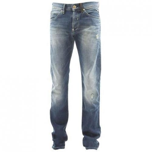 Freesoul - Hüftjeans Only Lux Left Medium Blaue Waschung