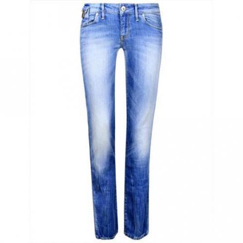 Freesoul - Hüftjeans Modell Stephanie Club Bleach Farbe Blaue Waschung