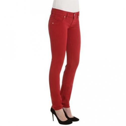 Freesoul - Skinny Modell Silver Mill Red Farbe Rot