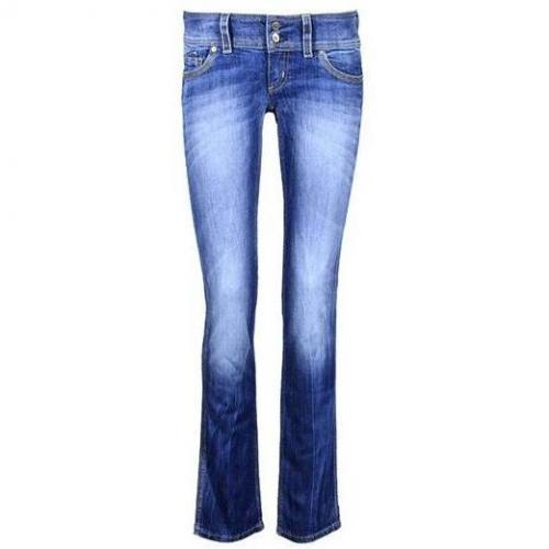 Freesoul - Slim Modell Aral Club Block Farbe Blaue Waschung