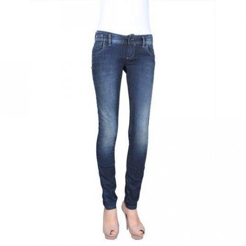Freesoul - Slim Modell Silver Selena Navy Farbe Blaue Waschung