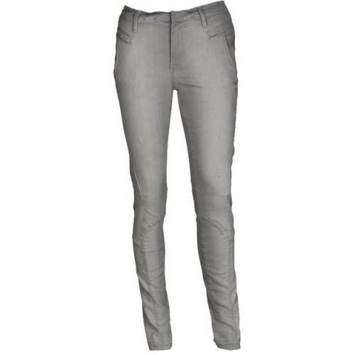 French Connection Jeans Ergo Skinny Patchwork grau