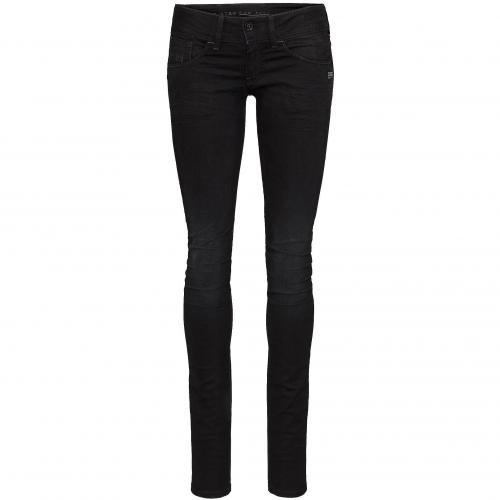 G-Star Damen Jeans Midge Cody Skinny Dark Aged