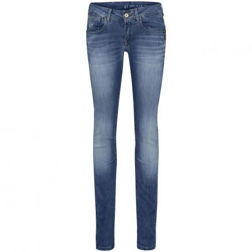 G-Star Damen Jeans Refender Skinny LT Aged