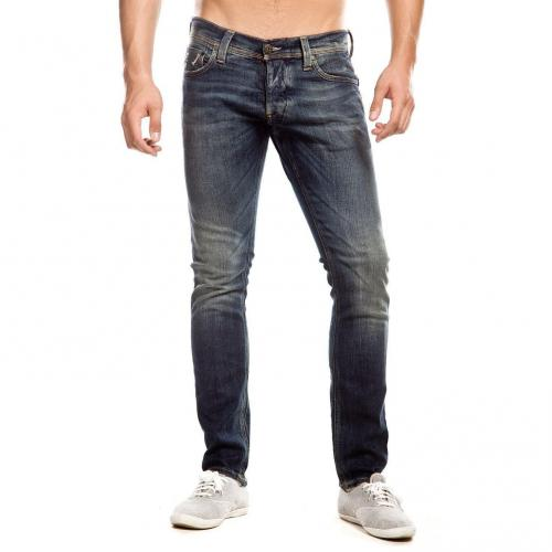 G-Star Defend Super Slim Jeans Stone Used Slim Fit