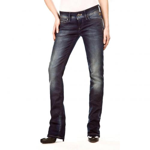 G-Star Ford Straight Jeans Überlänge 36 Straight Fit Dark Used