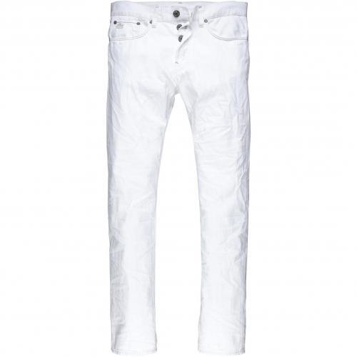G-Star Herren Jeans 3301 Slim Splend Destroyed