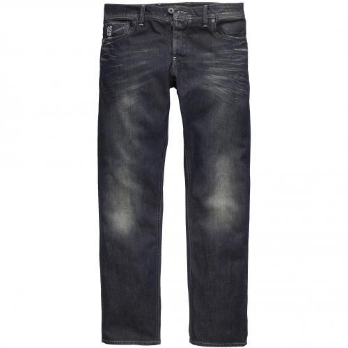 G-Star Herren Jeans Attacc Low Straight Dark Aged